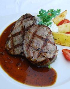 FILETE DE RES MARINADO Carne Asada, Barbacoa, Ideas Para, Catering, Steak, Cakes, Drinks, Cooking, Recipes