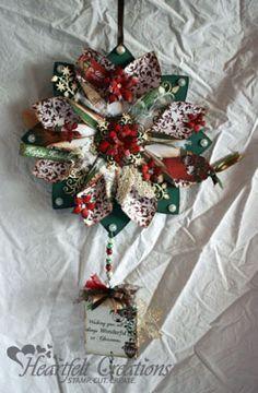 Heartfelt Creations | Christmas Flower Wreath