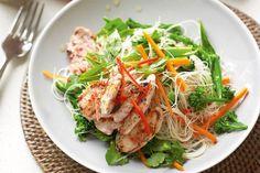 Thai pork vermicelli salad