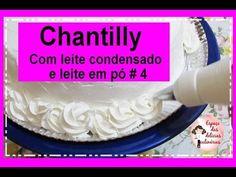 Chantilly com leite condensado e leite em pó # 4