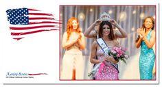 Miss California Keeley Boess being crowned