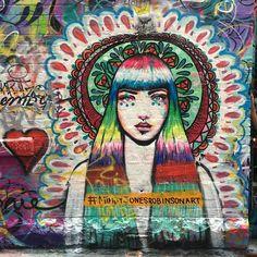 Mimby Jones Robinson Art in Melbourne, Australia, 2016 Sam King, Street Art Graffiti, Melbourne Australia, Creative Inspiration, Are You Happy, Tattoos, Artwork, Painting, Street Art