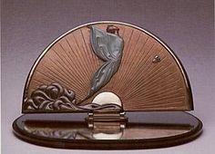 Erte Transcendence Table Mirror Sculpture Signed Numbered