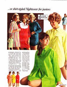 1960s Sleepwear