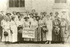 Because of the Southern strategy adopted by much of the white woman suffrage movement, Black women formed their own organizations to fight for the right to vote and then exercise that right. The organization shown here had its headquarters in Georgia in the early part of the 20th century.
