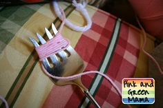 Pink and Green Mama: Ice Cream Theme Sensory Box