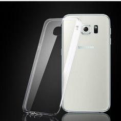 Samsung High Quality Ultra-Thin Clear Silicon TPU Soft Phone Case