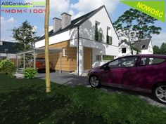 Projekty domów ABCentrum-DOM / Projekt DZ-2-A