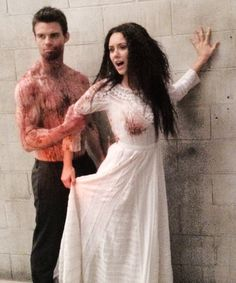 Nina Dobrev & Daniel Gillies. Elijah and Tatia - The Originals
