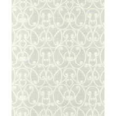 Superior Graham U0026 Brown Jude Paintable White Removable Wallpaper