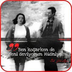 Ben koşarken de seni seviyorum Hüsniye. - Hüsnü (1982, Yedi Bela Hüsnü, Kemal Sunal, Oya Aydoğan)