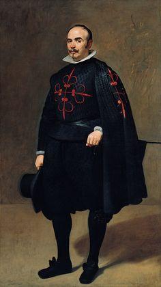 Pedro de Barberana y Aparregui, Knight of Calatrava, by Diego Velázquez (1631) Kimbell Art Museum, Fort Worth.