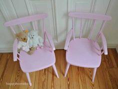 Alte Stühle im neuen Gewand / Old chairs beautified with paint