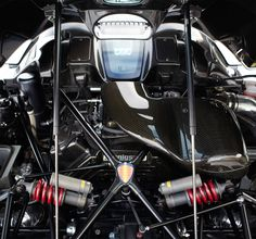 koenigsegg trevita engine compartment