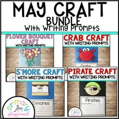 May Craftivities With Writing Prompts/Pages by Primary Playground