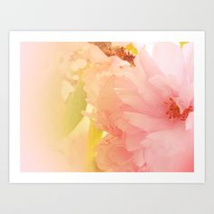 Buy Cherry Blossom Glow Art Print by peace_gifts. Worldwide shipping available at Society6.com. Just one of millions of high quality products available.