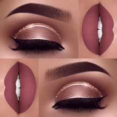 Makeup & Hair Ideas: Step-By-Step Professional Guide On How To Apply Eyeshadow Trend To Wear