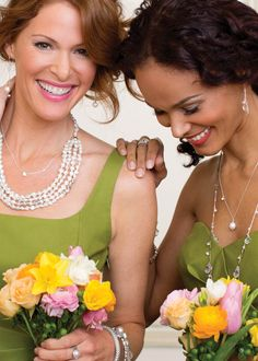 Gorgeous jewels are worth the indulgence on  a wedding day.  For you and your favorite girls! Shop Online: www.mysilpada.com/chaynee.forkner1