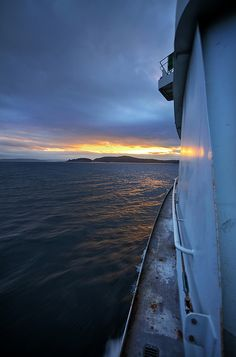 Ferry Ride Home | Seattle-Bainbridge Island ferry.