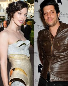 Milla Jovovich, 16, and Shawn Andrews, 21