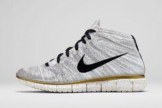 "Nike Sportswear 2014 Summer ""Gold Hypervenom"" Free Flyknit Chukka"
