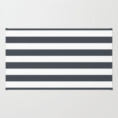 Charcoal+Stripes+Area+&+Throw+Rug+by+The+Petite+Pear+-+$28.00