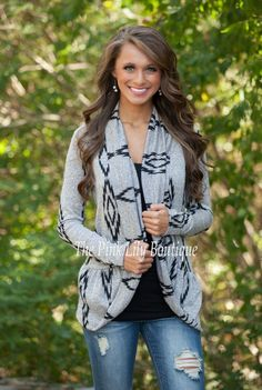 Never Wanted More Cardigan - The Pink Lily Boutique