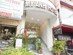 Ho Chi Minh City My Anh Hotel Vietnam, Asia The 2-star My Anh Hotel offers comfort and convenience whether you're on business or holiday in Ho Chi Minh City. Featuring a complete list of amenities, guests will find their stay at the property a comfortable one. Service-minded staff will welcome and guide you at the My Anh Hotel. Designed for comfort, selected guestrooms offer television LCD/plasma screen, locker, slippers, towels, closet to ensure a restful night. The hotel off...