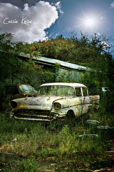 """Final resting place? Not! Can we say """"barn find"""". Restoration please"""