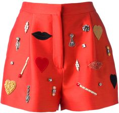 Embellished Shorts - STELLA MCCARTNEY dressmesweetiedarling