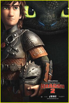 New Poster for 'How to Train Your Dragon 2'!
