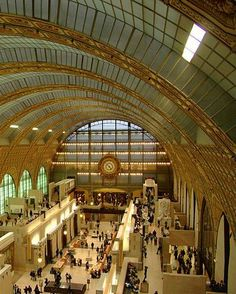 """Musee d""""Orsay in Paris a train station converted into an impressionist art museum Time Travel, Places To Travel, Places To See, Places Ive Been, Saginaw Valley, Travel Around The World, Around The Worlds, Barcelona, Top Destinations"""