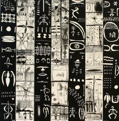 John Pule, Tuagafale lologo, woodcut and litho, 1998 Auckland Art Gallery, Polynesian Art, New Zealand Art, Nz Art, Maori Art, European Paintings, Art Icon, Tribal Art, Art Auction