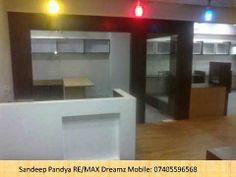 1630 ft furnished office for rent Ganesh meridian sg highway near gujara...