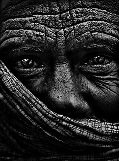 Life in his eyes, wisdom is his wrinkles…