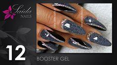 Booster Gel - Snake Skin Nailart (Nailart leicht gemalt | Saida Nails)