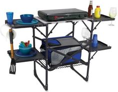 To hold all of your camp kitchen needs!