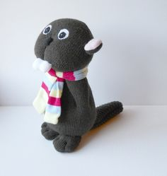Sock beaver This is a reserved listing for by TreacherCreatures