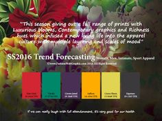 SS2016 trend forecasting