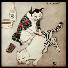 Irezumi-traditional Japanese tattooing