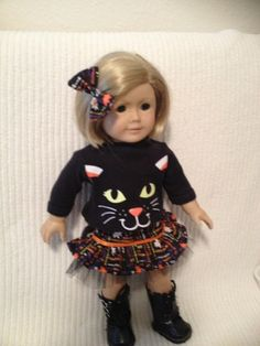 15 or 18 inch doll modeled by American Girl and by peggysprozac