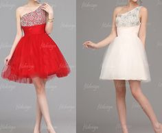 short prom dress homecoming dress red prom dress by fitdesign, $116.00