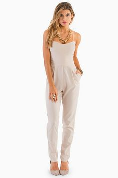 Strappy Sweetheart Jumpsuit $47 at www.tobi.com