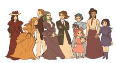 If sailor moon was set in 1900, i would love to see this ^^it 's a rough sketch ^^