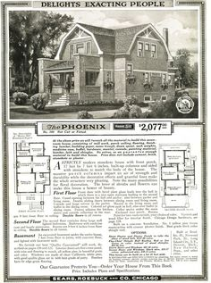 Sears Pheonix from the 1919 Modern Homes catalog.