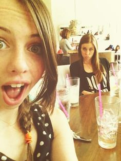 Dani and Christina cimorelli Cimorelli Sisters, Dani Cimorelli, Six Girl, Celebrity Singers, Out To Lunch, No Way Out, Now And Forever, Girls Club, Girl Bands