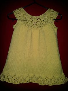 Meredith - sweet little girl's dress (1-8 years) by Ruth Maddock