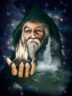 Magical wizard