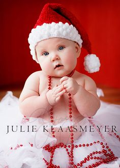 Just to let you all know i have no clue who this baby is but it gets me in a chrismasy mood! <3