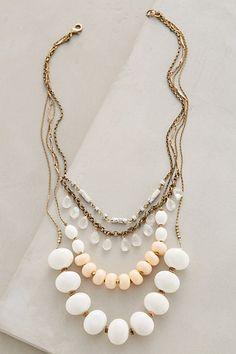 Layered Hemisphere Necklace #anthropologie